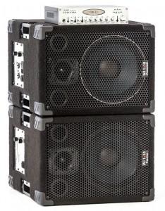 Wayne Jones Audio - 1x10 pair stacked with pre amp