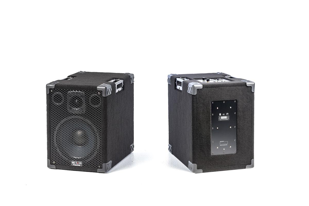 Wayne Jones Audio - 1000 Watt 1x10 Stereo - Mono Bass Cabinets