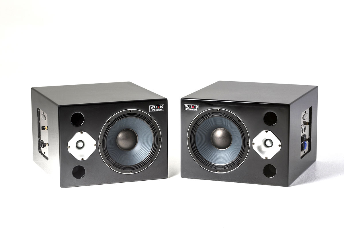 Wayne Jones Audio - 1000 Watt Passive & Active Studio Monitors