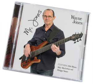 Wayne Jones Bass Player - New CD Mr. Jones - http://www.wayne-jones.com/bass-guitar/