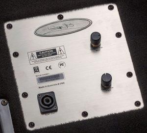 Wayne Jones Audio - 1x10 Stereo/Mono Bass Cabinets - Passive  Control Panel
