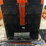 9000 Watts Of Wayne Jones AUDIO Wall Demolishing Sound!!!