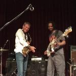 David Sanborn & André Berry (Wayne Jones AUDIO endorsee). Blue Note, Nagoya, October 18 2015.