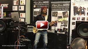 André Berry performing at NAMM 2017