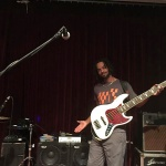 André Berry, Wayne Jones AUDIO endorsee. 2 x WJ 2×10 cabinets with 2000 watts in 4×10's!