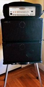 """The sound is so clear and powerful it's scary. Audiophile Boutique Bass Rig"""
