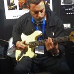Chris Bekker - Wayne Jones AUDIO stand, Melbourne Guitar Show 2016