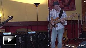 Craig Newman using the 1000 Watt WJ 2x10 Powered Bass Cabinet - Wayne Jones Audio