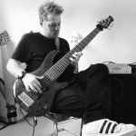 Drew Dedman, bass player, Melbourne, Australia