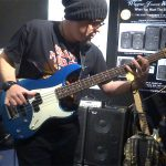 Drew Dedman - bass player for Superheist
