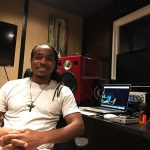 Introducing the Jones-Scanlon Studio Monitors to Earl Powell at Eptone Music Productions, Los Angeles, CA.