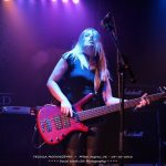 Jess Reily, bass player for Australian powerhouse rock trio, Tequila Mockingbyrd