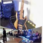 Joe saluting his WJ 2×10 Power Bass Cabinet & WJBP Stereo Bass Pre-amp rig