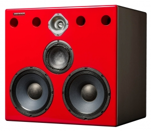 Jones-Scanlon Big Reds studio monitors - recording engineering, audio and film post production, sound track mastering, audio mixing, sound mixing, recording studio gear, far field monitoring systems.