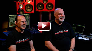 Wayne Jones and Steve Scanlon Talk about the Jones-Scanlon Studio Monitors, why and where they came from.