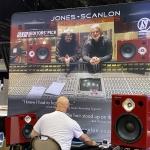 Steve Scanlon of Jones-Scanlon Studio Monitors at NAMM 2020