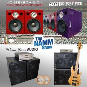 JONES-SCANLON Studio Monitors & Wayne Jones AUDIO at The NAMM Show 2020, Hall A, Booth 10927