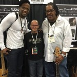 Julian Vaughn, Wayne Jones and James Cleaver - NAMM 2016