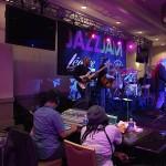 Mark Peterson with Jeff Kashiwa. Jazz Jam at the Hilton 2016