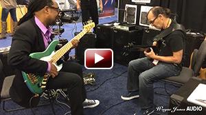 Nate Phillips & Wayne Jones Jam at Wayne Jones Audio NAMM 2016 Booth