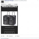 Nathaniel Phillips, bass player & Wayne Jones AUDIO endorsee, powered bass speaker cabinets