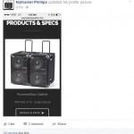 Nathaniel Phillips, bass player & Wayne Jones AUDIO endorsee, powered bass speaker cabinets