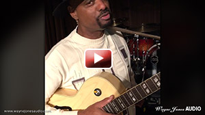 Nick Colionne, guiarist, endorsing Wayne JonesAudio guitar amp/speakers and guitar pre-amp