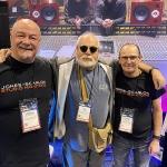 Steve Scanlon, Ed Staium (producer and engineer) and Wayne Jones