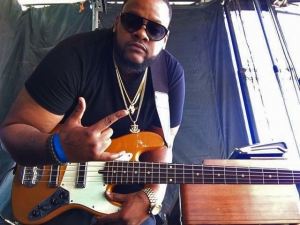 Thaddeus Johnson, bass player with 2018 McDonald's Gospel Celebration Tour