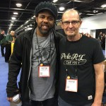 Victor Wooten and Wayne Jones at NAMM 2016