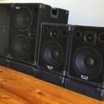 WJ Angle Back & WJ Stacking Spacers for Wayne Jones AUDIO bass speaker cabinets
