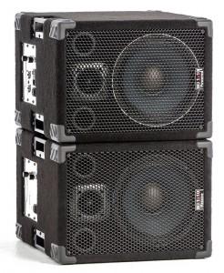 Wayne Jones Audio - 1000 Watt 1x10 Stereo/Mono Bass Cabinets  for bass guitar players & double bass players. Bass guitar amplification.