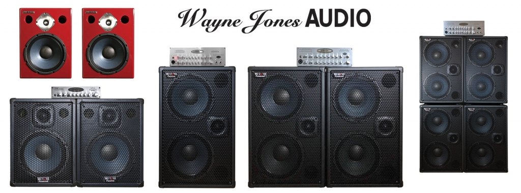 Wayne Jones Audio product range for bass guitarists, upright bass players, guitar players. Bass guitar speakers, pre-amps, amplifiers, speakers for electric guitar.