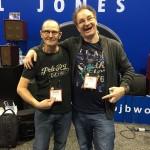 Wayne Jones and Phil Jones at NAMM 2016