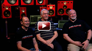Wayne Jones and Steve Scanlon talk with  Michail Barabasz from Lorantz Audio Services  on the development of drivers and the  Jones-Scanlon Studio Monitor systems.