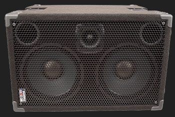 1000 Watt Compact, Portable  Hi End, High Powered, Crystal Clear, Full Range 2×10 Bass Cabinet (40 Hz – 20 KHz & does the job of a 4×10) that only requires a pre-amp, your bass & yourself.