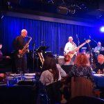 Robyn Payne (piano), Lachlan Davidson (tenor sax), Wayne Jones (bass), Fallon Williams (drums), Rod Little (bass), Jack Pantazis @ Bird's Basement jazz club in Melbourne July 3 2016