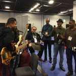 Bass players @ NAMM 2016