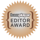 Bass Player Magazine editor award for Wayne Jones Audio bass guitar rigs - Jan 2018 issue