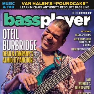 Wayne Jones Audio product review in Bass Player Magazine Jan 2018