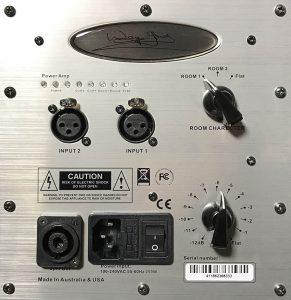 Jones-Scanlon - 1000 Watt 1x10 Studio Monitors - Active control plate