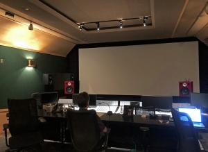 Warner Bros. Jones-Scanlon Studio Monitors demonstration, September 2018