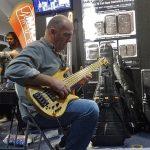 Wayne Jones AUDIO stand, Melbourne Guitar Show 2016