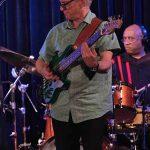 Bassist Rob Little & drummer Fallon Williams @ Bird's Basement jazz club in Melbourne