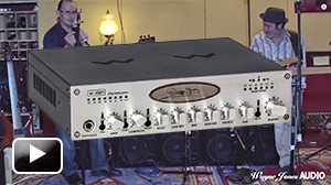 Wayne Jones demonstrates the WJBP Stereo Valve Bass Pre-Amp - Wayne Jones AUDIO