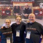 Wayne Jones, Nick Thorpe (president of Westwind Music Group), Steve Scanlon
