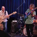Wayne Jones, Robbie Little $ Fallon Williams @ Bird's Basement jazz club in Melbourne 3 July 2016